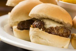 Bacon Blue Cheese Sliders